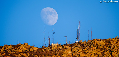 """Moonrise over Box Springs Mountains • <a style=""""font-size:0.8em;"""" href=""""http://www.flickr.com/photos/59465790@N04/15551264179/"""" target=""""_blank"""">View on Flickr</a>"""