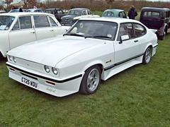 88 Tickford Turbo Capri (1985) (robertknight16) Tags: ford british 1980s tickford alrewas worldcars tickfordcapri c725wdu