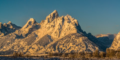 Winter Light On The Tetons (LeAnn Yeates2011) Tags: winter light snow mountains nature landscapes grand grandtetons teton tetons the grandtetonnationalpark