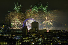 Hello 2015! (ar2ras) Tags: from london restaurant view fireworks newyear newyearseve hutong shard 2015