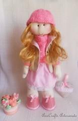 AnnCrafts Dolls - Carlota Doll I (AnnCrafts Artesanato) Tags: handmade boneca tilda handmadedolls handmadedoll anncraftsdesign anndolls