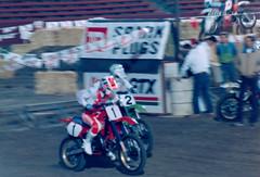 Moto Men (CDeahr23) Tags: ama motocross supercross jeffward davidbailey lacoliseum teamkawasaki teamhonda