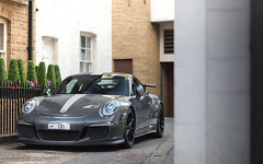 Stripes. (Alex Penfold) Tags: london alex 911 arab porsche supercar supercars 991 gt3 penfold 2013