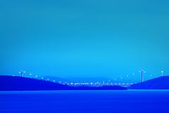 Hga kusten bron (fotografanders) Tags: bridge blue water coast high hour vatten veda bron bl hga kusten hemsn vsternorrland timmen ngermanlven hngbro