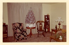 Silver Trees, Silver Trees, Soon It Will Be Christmas Day (Alan Mays) Tags: christmas xmas old trees decorations vintage silver aluminum holidays interiors rooms chairs photos artificial ephemera photographs curtains snapshots tvs christmastrees rockingchairs draperies televisions foundphotos livingrooms december25 silvertrees aluminumtrees artificialtrees televisionsets