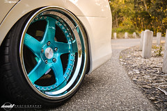 f133-brushed-turquoise-toyota-camry-wheel (AvantGardeWheels) Tags: blue wheel hardware paint suspension turquoise teal painted air wheels profile step chrome finish toyota lip bags aussie custom standard rim rims function avant garde forged camry finishing brushed avantgarde bespoke bagged f133 agwheels agfunction