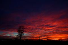 Zalazak - gori nebo (sunset)