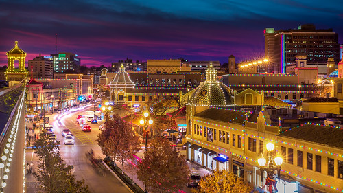 Attractive Plaza Lights Dusk Awesome Ideas