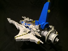 NCS-VV #2 (timhenderson73) Tags: classic lego space custom neoclassic moc vicviper novvember