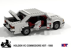 Holden VC Commodore HDT (1980) (lego911) Tags: auto panorama car sedan team model mt lego oz render australia racing mount peter brock aussie 1980 1980s saloon bathurst 85 vc challenge v8 holden cad lugnuts dealer povray moc ldd hdt miniland commore lego911 liketotally80s