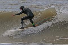 Surfer (Lloyd - Green) Tags: summer beach canon carmarthenshire surfing surfers surfboards sands beachsports sportsphotography aberystwythbeach canonef200400mmf4is14extender canon7dmk2