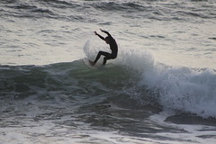 riding the edge (j j miller) Tags: california nationalpark surf surfer board marin wave surfing surfboard headlands norcal westcoast ggnra