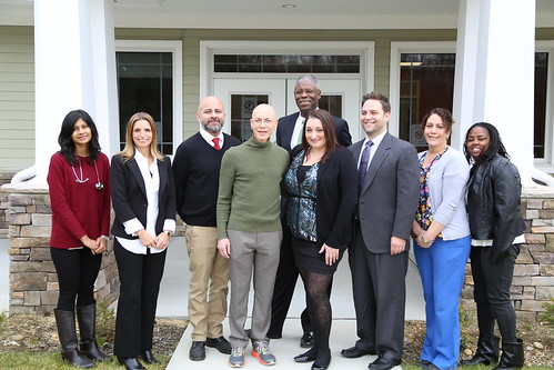 Ribbon-cutting ceremony for AHF's Bellport Healthcare Center