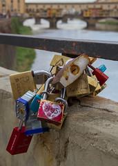 Love in Florence (USpecks_Photography) Tags: bridge love river florence locks firenze arno pontevecchio florenz canon7d tamron18270