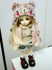 new outfit for Mysie (eggt∀rts) Tags: bjd fairyland yosd littlefee littlefeeante