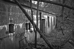 The Warrens (gavmroberts1984) Tags: world bw white black rot canon point one scotland war edinburgh decay hound forth network ww1 lothian firth defenses