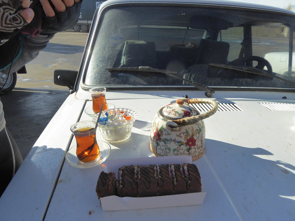 A spot of tea on the road