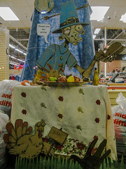 Happy Thanksgiving! (prima seadiva) Tags: justin thanksgiving thriftstore zombie pilgrim capitolhill valuevillage