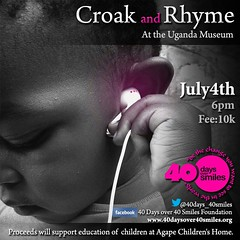 croak and rhyme poster 2014