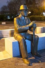 Doctor Alfred Salter statue (© Freddie) Tags: london bermondsey rotherhithe se16 statue salter southwark dianegorvin platformwharf fjroll doctorsalter alfredsalter doctorsaltersdaydream ©freddie