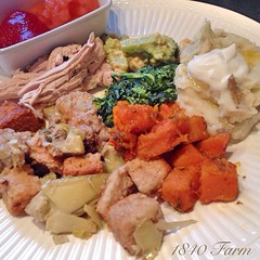 "I planned to take photos of each dish we enjoyed as part of our Thanksgiving meal. Then I saw them and suddenly all I could concentrate on was adding each of them to my plate!  They were all delicious and we had a wonderful meal around our farmhouse table • <a style=""font-size:0.8em;"" href=""http://www.flickr.com/photos/54958436@N05/15893720542/"" target=""_blank"">View on Flickr</a>"