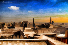 Las mil y una noches (alanchanflor) Tags: canon asia uzbekistan pintura arquitectura arte mongol paisaje ciudad medieval