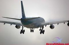 Air Tahiti Nui A340-313 [F-OJTN] (aircraftvideos) Tags: california plane airplane airport traffic angeles aircraft aviation cargo international airbus boeing lax runway airliner klax avgeek avhooker