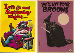 Monster Greeting Cards No. 39 (Topps 1965) (Donald Deveau) Tags: monster greetingcard robertcrumb topps tradingcards