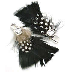 Feather hair clip 2B