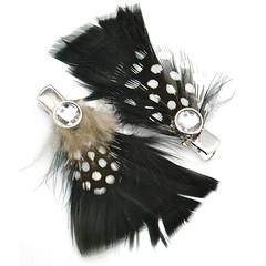 Feather hair clip 2B
