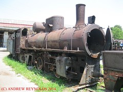"2014 0611 84 SEPARACIJA DEPOT 0-8-2 83  CLASS RUSTING LOCOMOTIVE (Andrew Reynolds transport view) Tags: railroad train europe industrial bosnia transport engine railway class steam herzegovina depot locomotive rusting 83 yugoslavia 84 2014 0611 082 mine"" transit"" ""mass ""coal ""bosnia herzegovina"" separacija"