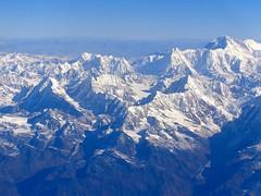 Cho Oyo (8201m)  et sur la gauche le Pumori (7161m) (Charles.Louis) Tags: himalaya npal
