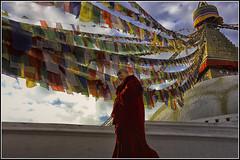 Nepal 6 (Le Papa Tango) Tags: leica nepal sunset tibet boudhism katmandhu