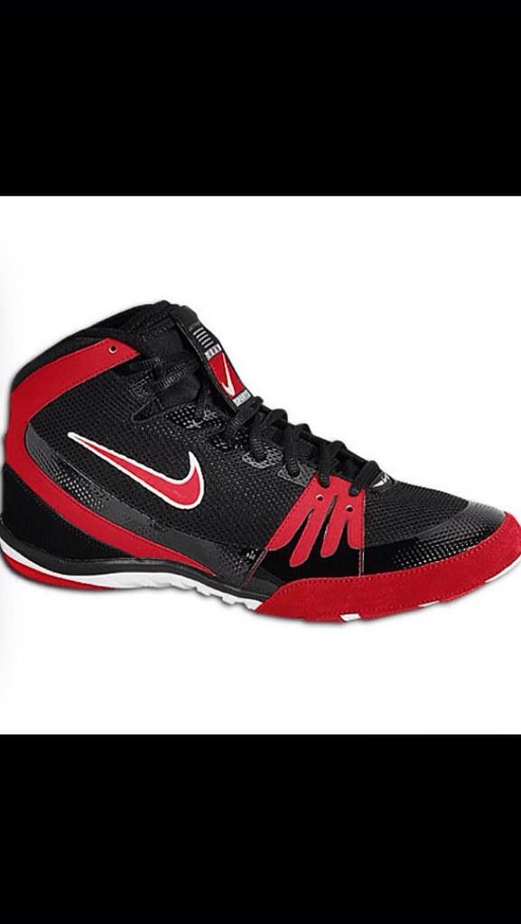 nike freeks wrestling shoes red