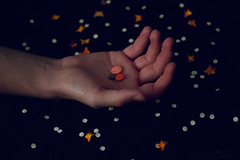 Pills 47/365 (Yonatan Lucero) Tags: selfportrait art beauty hurt hands alone darkness digitalart dream confetti pills conceptual challenge exposed darkart conceptualart conceptualphotography 365photos 365proyect
