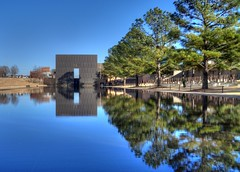 HDR - Oklahoma City National Memorial (zendt66) Tags: photo nikon memorial assignment national theme alfred okc weekly challenge hdr murrah d90 photomatix zendt66 52weeks2015
