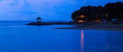 Blue Hour at Sanur, Bali. (angolming@gmail.com) Tags: sea bali laut bluehour sanur pantaikarang angolming