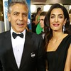 regram @amcap711 regram @goldenglobes George Clooney and Amal Alamuddin: Hes our #CecilBDeMilleAward recipient tonight!