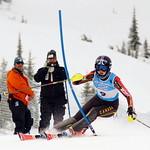 Alix Wells takes gold in a tie with teammate Stefanie Fleckenstein at Schweitzer FIS Can Am slalom PHOTO CREDIT: Derek Trussler