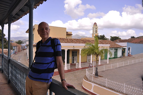 Insightful Tour Guide in Plaza Mayor, Trinidad, Cuba