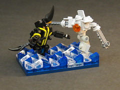 Kaiju Rising (Grantmasters) Tags: danger lego pacific micro jaeger rim gypsy kaiju knifehead