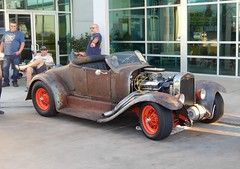 One  Piece at a Time .    '28 Ford body and a lot of different parts (Bob the Real Deal) Tags: cool rat fresno hotrod modified custom ratrod onepieceatatime fridaynightcruise rodsonthebluff itsah