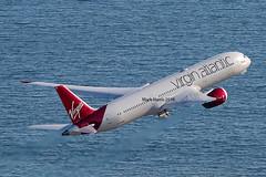 Virgin Atlantic Boeing 787-9 Dreamliner G-VWHO (Mark Harris photography) Tags: plane aircraft aviation virgin boeing spotting 787