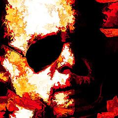 man with glasses II (j.p.yef) Tags: red portrait people man glasses digitalart yef peterfey bestportraitsaoi jpyef
