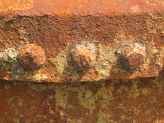 Rust Bolts (Brix5) Tags: rust decay rusty bolts derelict britanniabeach brix5