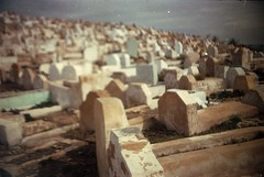 pretty (Standing Clouds) Tags: africa city travel mountain blur grave graveyard analog death pretty kodak northafrica hill blurred morocco fez maroc medina analogue analogphotography mystic oldcity marokko fes travelphotography originalphotography hannesherbst