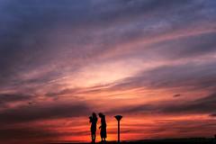 Osaka Port (m.yamasaki) Tags: street sunset portrait people silhouette twilight  nightfall