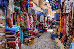 Chefchaouen marketplace (collinsad2015) Tags: morocco marketplace chefchaouen bluecity chacune
