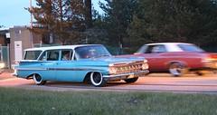Chevrolet 1959 (Drontfarmaren) Tags: hot classic cars chevrolet sweden cruising event american sverige coverage bilder 1959 2016 biltrff timr drontfarmaren