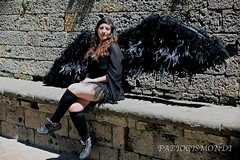 ALESSIA @ VOLTERRA MISTERY & FANTASY (fabiogis50) Tags: portrait girl wings cosplay cosplayer volterramisteryfantasy